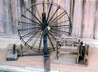 糸車と織機